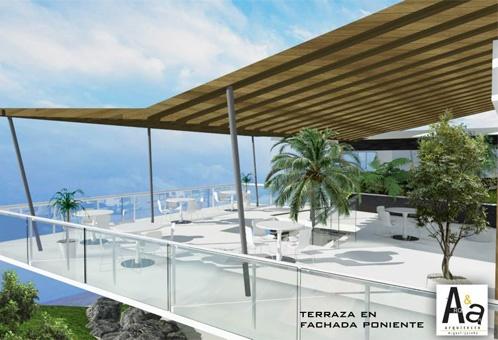 AA Arquitectos en Palmas Plaza el primer Businnes Life Center en Puebla Centro comercial y oficinas en renta