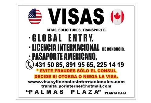 Trámite de visas a USA en Puebla en Palmas Plaza el primer Businnes Life Center en Puebla Centro comercial y oficinas en renta